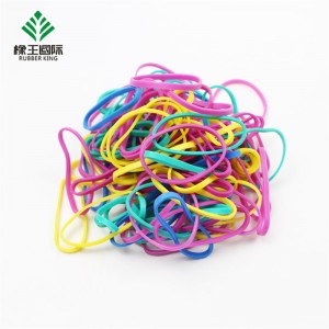 Factory direct sale color TPR high elasticity strong toughness and durable hair rubber band
