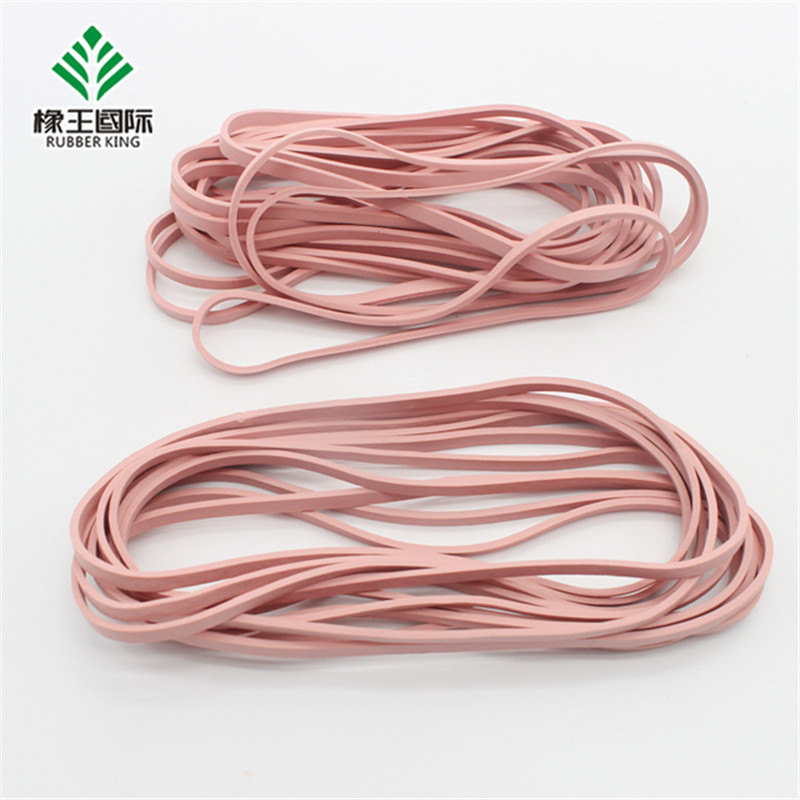 Factory customized color high elasticity durable anti-static rubber band for electronics factory